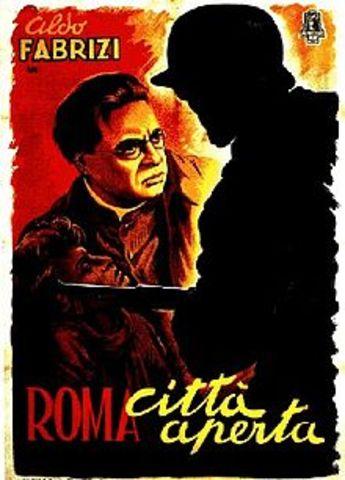 """In 1946 Fellini ha lavorato  sulla sceneggiatura per il cinema di Rosselini, """"Paisano"""""""