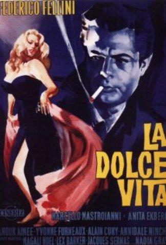 La dolce vita debuto' in 1960