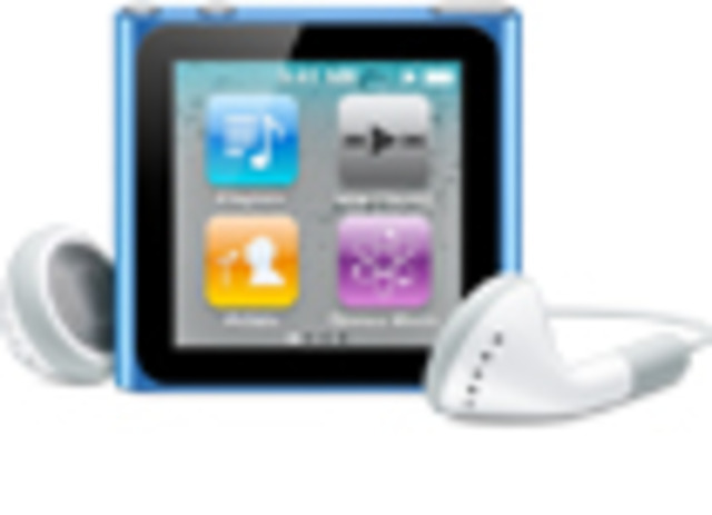 The new iPod nano features Multi-Touch interface and a built-in clip for instant wearability