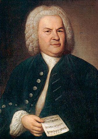 Naixement de Johann Sebastian Bach