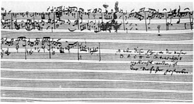 L'art de la fuga de Bach
