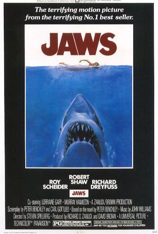 Jaws (Les dents de la mer) premier blockbuster