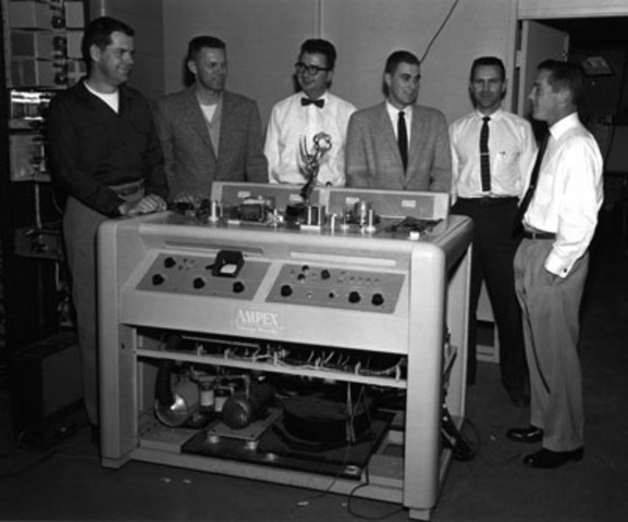 The First Commercial Videotape Recorder