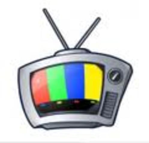 Εμφάνιση της έγχρωμης τηλεόρασης