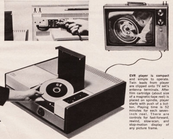 CBS EVR or Electronic Video Recording System Prototype