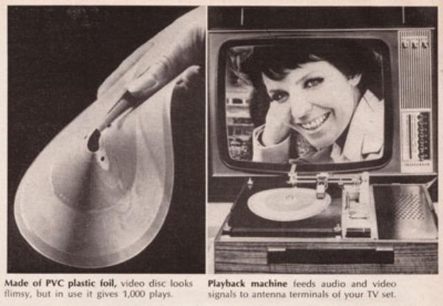 Telefunken Teldec VideoDisc Player Prototype