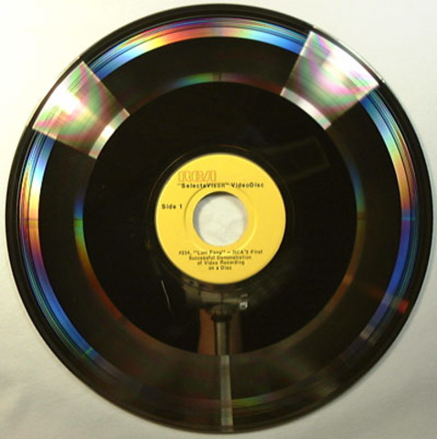 The First Successful RCA SelectaVision VideoDisc