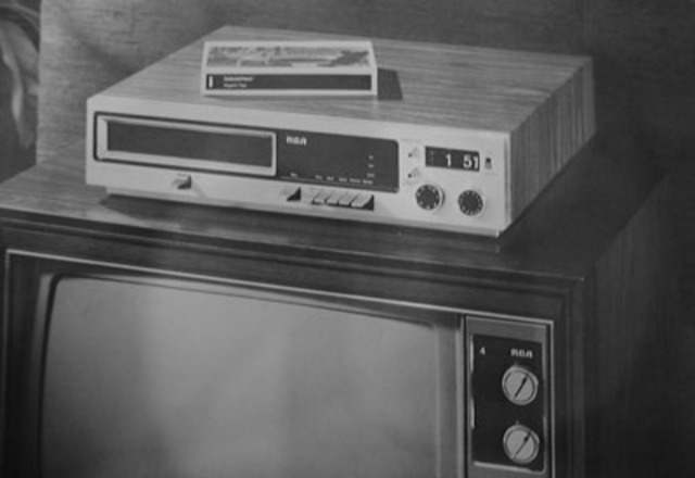 RCA SelectaVision MagTape Prototype VCR