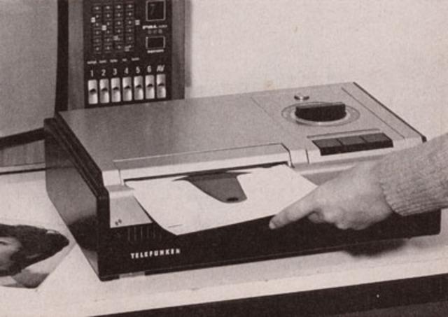 Telefunken Teldec Production VideoDisc Player