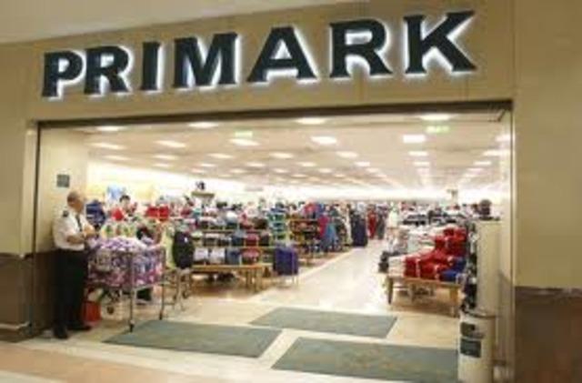Nace Primark competencia en costos Zara