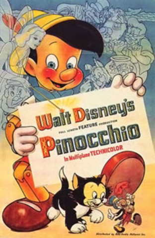 Pinocchio was released