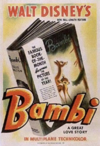 Bambi was released