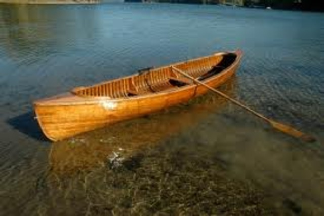 Invention of the Leather Covered Rowboat