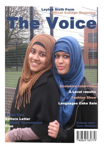 Preliminary Task- College Magazine