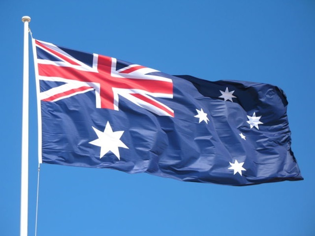 1901 Australia Flag was flown for the first time