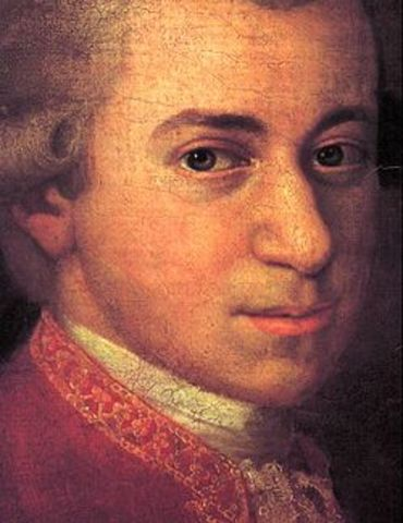Wolfgang Amadeus Mozart is born