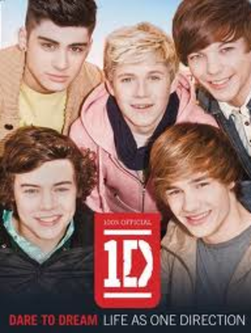 One Direction Dare to dream book released