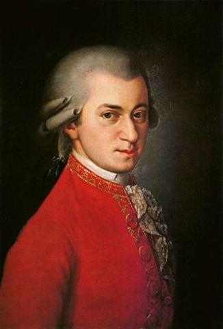 Naixement de Wolfgang Amadeus Mozart