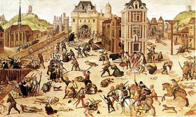 Start of the European Wars of religion