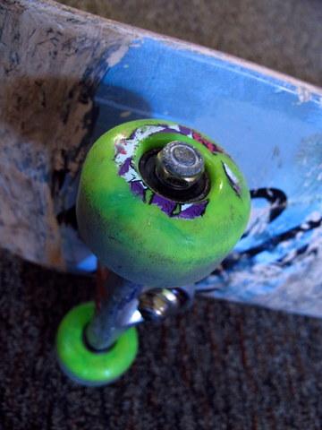 Frank Nasworthy renovated the wheels