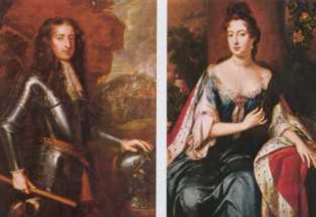 Reign of William III and Mary II started