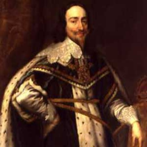 Start of the reign of Charles I