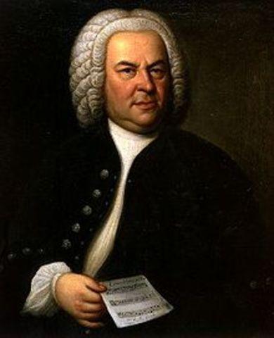 J.S Bach is born