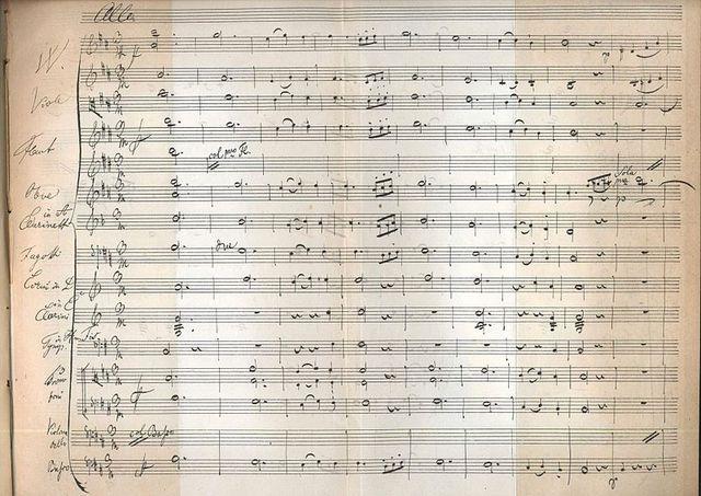 Simfonia núm. 8 en si menor, de Franz Schubert