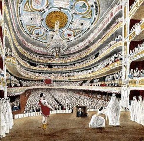 S'inaugura el Teatre del Liceu