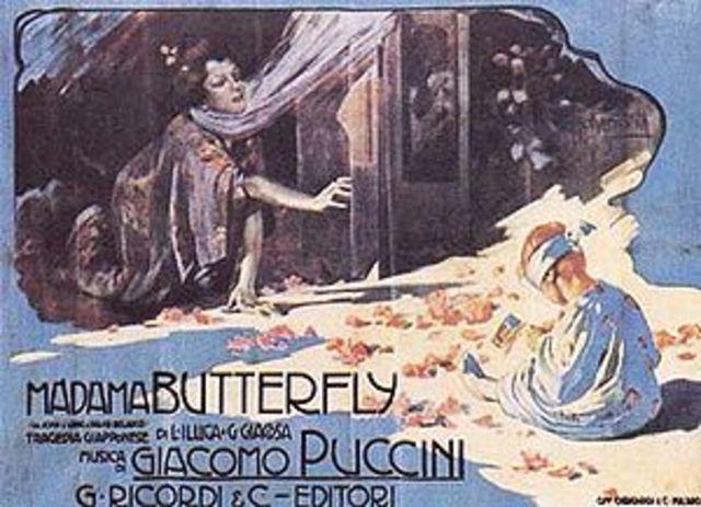 S'estrena Madama Butterfly, de Giacomo Puccini