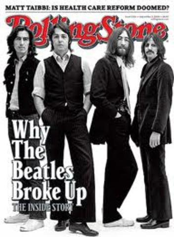1970 Beatles Break Up