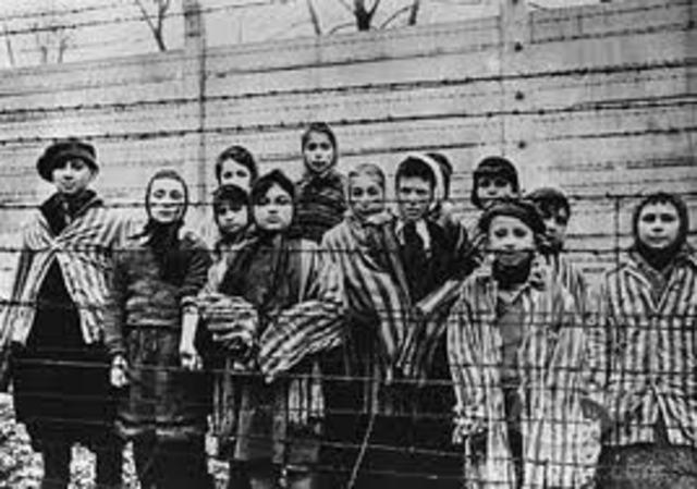 First concentration camp established.