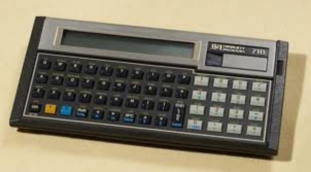•Pocket Calculators Introduced