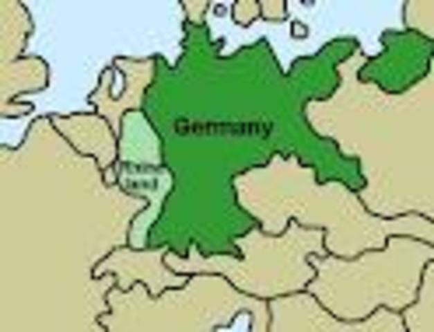 Invasion of Rhineland
