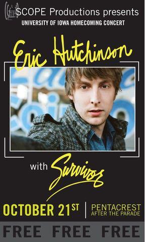 Eric Hutchinson and Survivor