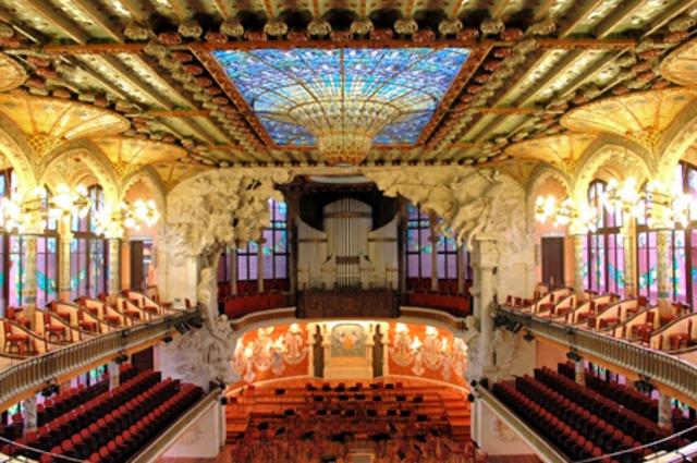 Inauguració del Palau de la Música Catalana