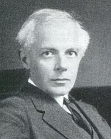 Naixement de Béla Bartók