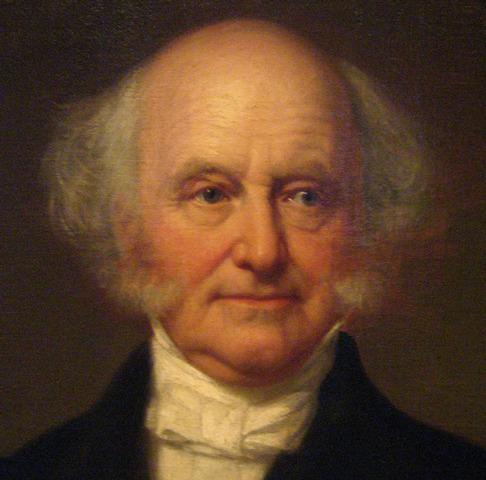 Martin Van Buren is President