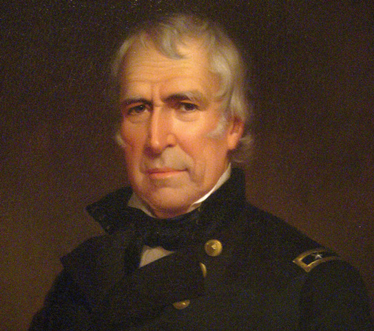 Zachary Taylor is President