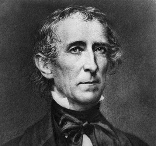 Tenth President : John Tyler 1841-1845