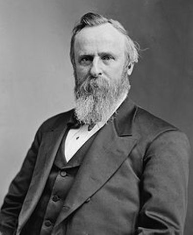 Nineteenth Rutherford Birchard Hayes 1877-1881