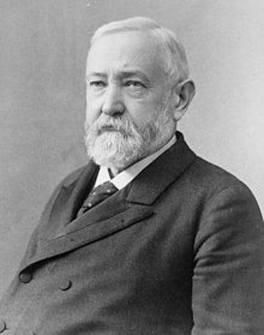Twenty - Third President : Benjamin Harrison 1889-1893