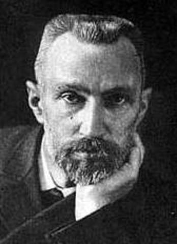 She married with Pierre Curie