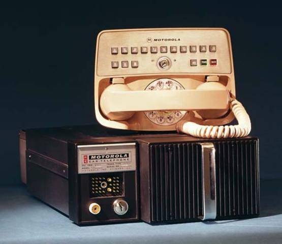Motorola Creates the First Car Phone