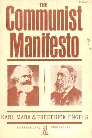 Marx and Engles write The Communist Manifesto