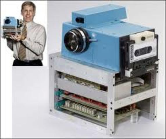 First digital camera was released