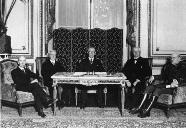 Treaty of Versailles/End of WWI