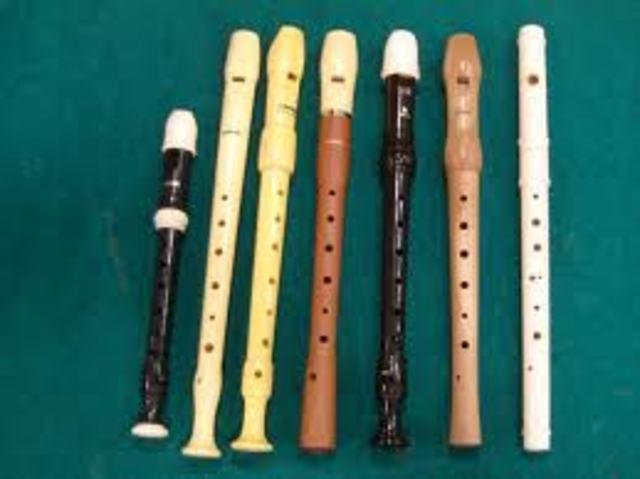 1600. Flauta dulce en Inglaterra