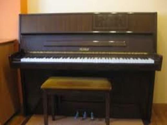 1783. Se patentan los pedales del Piano en Londres