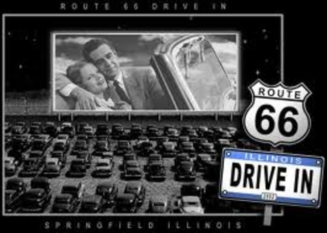 First drive in Cinema